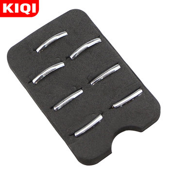 KIQI 7Pcs/Set ABS Chrome