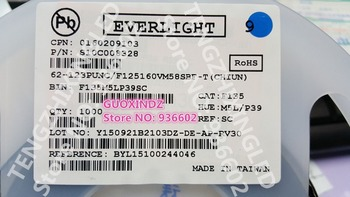EVERLIGHT LED Backlight High Power LED 1-2W 3030 6 V šaltai balta 130-155LM TV Taikymas 62-123PUNC/F125160VM58SBF-T 204039