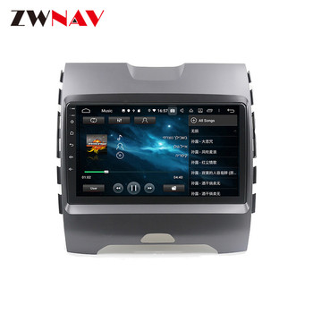2 din PX6 Automobilio Multimedijos grotuvo Ford Ranger 2018 Android 10.0 touch screen automobilinis video, audio, radijo stereo GPS navi galvos vienetas