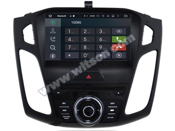 WITSON Android 10.0 1024*600 HD Ekranas Ford focus CAR DVD GPS STEREO 4GB RAM+32GB FLASH 8 Octa Core+DVR/WIFI+DSP+DAB